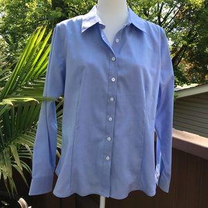 NWT Ellen Tracy button down Work Shirt